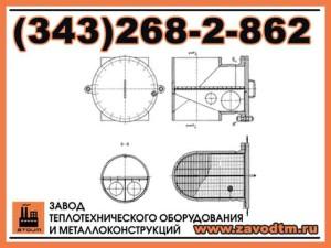 Фильтр пусковой ФПТ-250 Ру 40 09Г2С чертеж